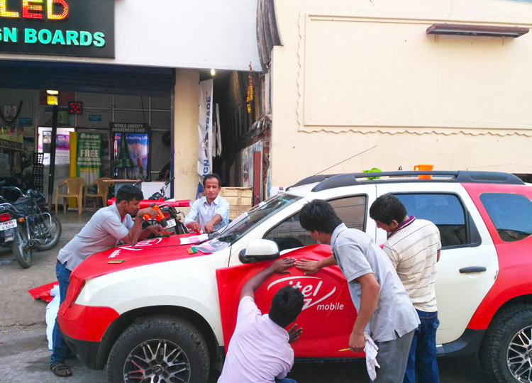 Vehicle Graphic Wrapping Services In Chennai 3m Car Stickers Decals